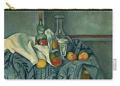 The Peppermint Bottle Carry-all Pouch by Paul Cezanne