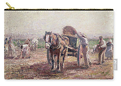 The Potato Pickers Carry-all Pouch by Harry Fidler