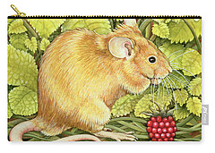 The Raspberry Mouse Carry-all Pouch by Ditz