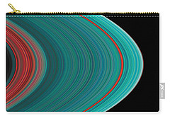 The Rings Of Saturn Carry-all Pouch by Anonymous