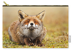 The Smiling Fox Carry-all Pouch by Roeselien Raimond