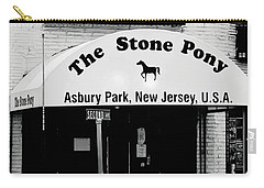 The Stone Pony Asbury Park Nj Carry-all Pouch by Terry DeLuco
