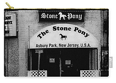 The Stone Pony Carry-all Pouch by Colleen Kammerer