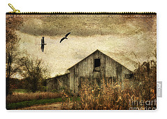 The Times They Are A Changing Carry-all Pouch by Lois Bryan