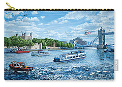 The Tower Of London Carry-all Pouch by Steve Crisp