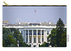 The Whitehouse - Washington Dc Carry-all Pouch by Bill Cannon