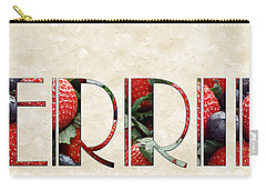The Word Is Berries  Carry-all Pouch by Andee Design