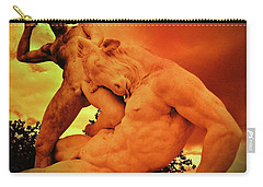 Theseus And The Minotaur Carry-all Pouch by John Malone
