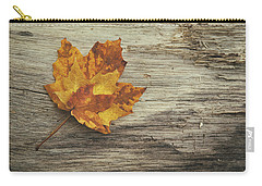 Three Leaves Carry-all Pouch by Scott Norris