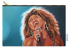Tina Turner 3 Carry-all Pouch by Paul Meijering