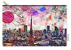Tokyo Metropolis Carry-all Pouch by Daniel Janda