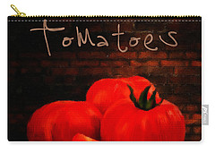 Tomatoes II Carry-all Pouch by Lourry Legarde