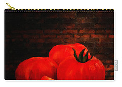 Tomatoes Carry-all Pouch by Lourry Legarde