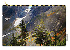Top Of Cascade Pass Carry-all Pouch by Inge Johnsson