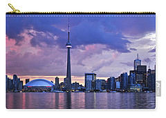 Toronto Skyline Carry-all Pouch by Elena Elisseeva