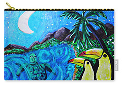 Toucan Bay Carry-all Pouch by Sarah Loft