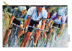 Tour De Force Carry-all Pouch by Hanne Lore Koehler