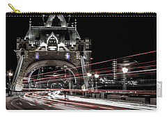 Tower Bridge London Carry-all Pouch by Martin Newman
