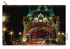 Tower Bridge Carry-all Pouch by Martin Newman