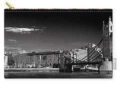 Tower Of London And Tower Bridge Carry-all Pouch by Gary Eason