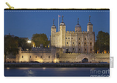 Tower Of London Carry-all Pouch by Brian Jannsen