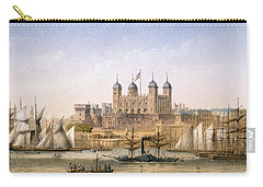 Tower Of London, 1862 Carry-all Pouch by Achille-Louis Martinet