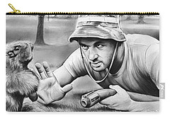 Tribute To Caddyshack Carry-all Pouch by Greg Joens