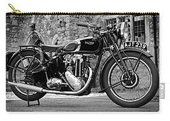 Triumph De Luxe 1939 Carry-all Pouch by Mark Rogan