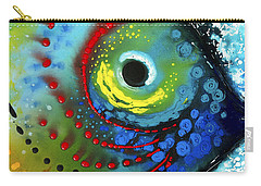 Tropical Fish - Art By Sharon Cummings Carry-all Pouch by Sharon Cummings