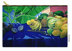 Tropical Fruit Carry-all Pouch by Lincoln Seligman