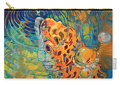 Trout Rise Carry-all Pouch by Savlen Art