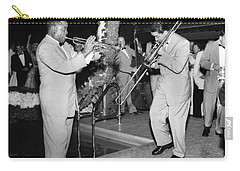 Trumpeter Louis Armstrong Carry-all Pouch by Underwood Archives
