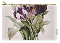 Tulips Carry-all Pouch by Pierre Joseph Redoute