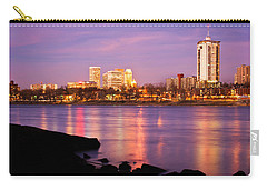 Tulsa Oklahoma - University Tower View Carry-all Pouch by Gregory Ballos