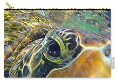 Turtle Eye Carry-all Pouch by Carey Chen