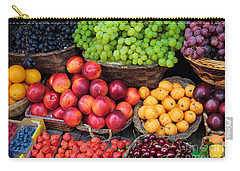 Tuscan Fruit Carry-all Pouch by Inge Johnsson