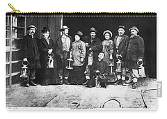 Ulysses S. Grant Visits Mine Carry-all Pouch by Underwood Archives