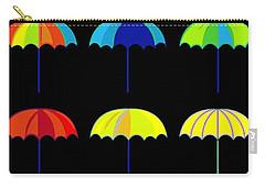 Umbrella Ella Ella Ella Carry-all Pouch by Florian Rodarte
