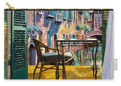 Un Soggiorno A Venezia Carry-all Pouch by Guido Borelli