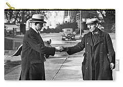 Unemployed Man Sells Apples Carry-all Pouch by Underwood Archives