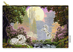 Unicorn New Born Carry-all Pouch by Garry Walton