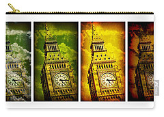 United Colors Of Big Ben Carry-all Pouch by Stephen Stookey
