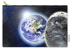 Alone In The Universe Carry-all Pouch by Stefano Senise