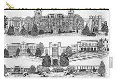 University Of Arkansas Fayetteville Carry-all Pouch by Liz  Bryant
