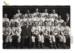 University Of Michigan - 1953 College Baseball National Champion Carry-all Pouch by Mountain Dreams