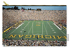 University Of Michigan Stadium, Ann Carry-all Pouch by Panoramic Images