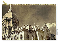 University Of Notre Dame Carry-all Pouch by Dan Sproul