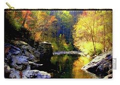 Upstream Carry-all Pouch by Karen Wiles
