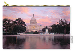 Us Capitol Washington Dc Carry-all Pouch by Panoramic Images