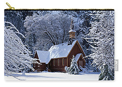 Usa, California, Yosemite Park, Chapel Carry-all Pouch by Panoramic Images